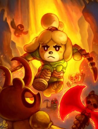 Doom Isabelle by Ry-Spirit