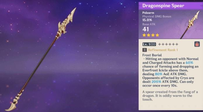 Dragonspine Spear