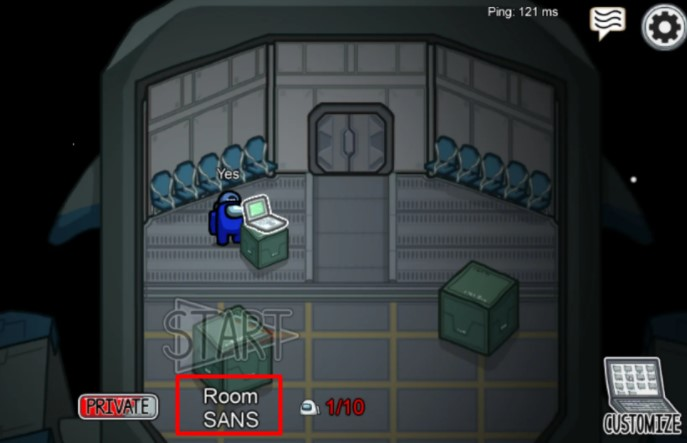 Fill the Room Code Correctly
