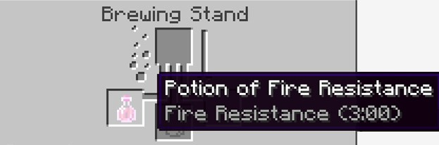 Fire Resistance Potion (3.00) is successfully completed.