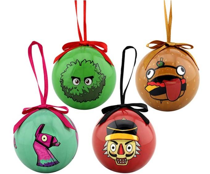 Fortnite Holiday Ornaments Set of 4