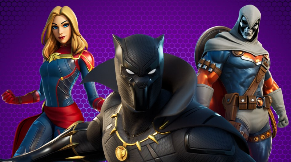 Fortnite Marvel Royalty and Warriors Pack Details