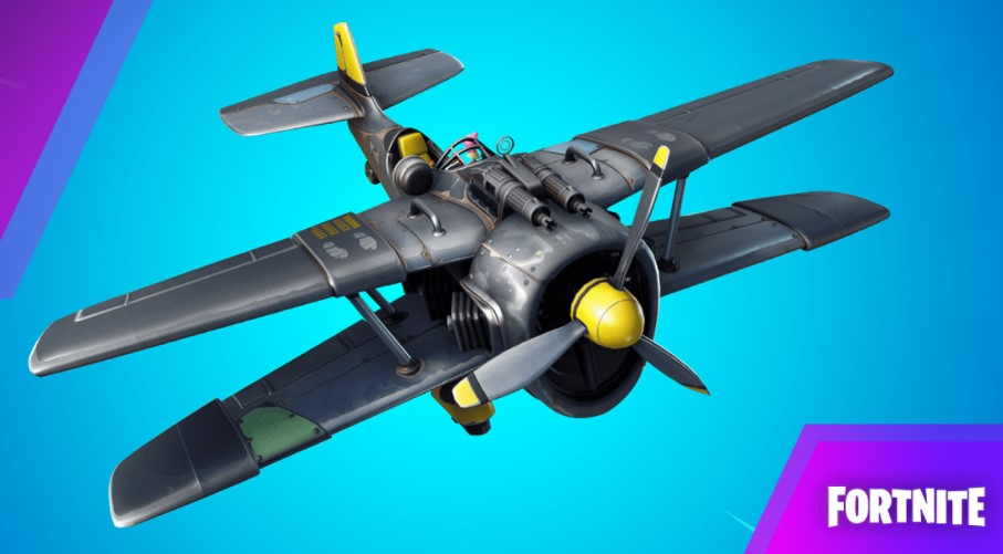 Fortnite X-4 Stormwing Plane All Locations! Travel 5000 Meters in X-4 Stormwings Snowmando Challenge
