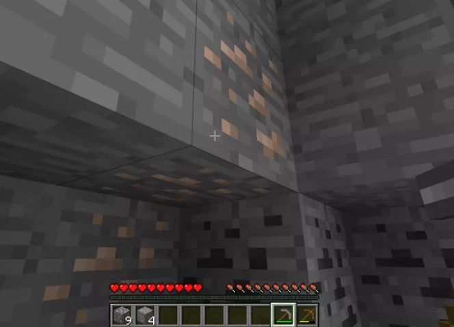 Gather iron ore