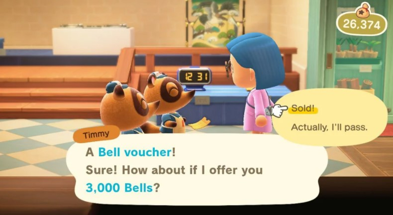 How do you use the Bell Vouchers