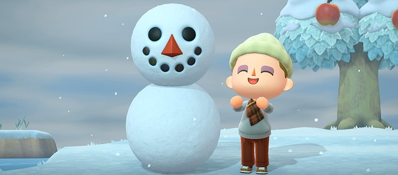 How to Build a Snowman in Animal Crossing