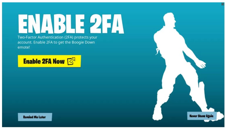 How to Enable Epic Games Fortnite 2FA [Step by Step]