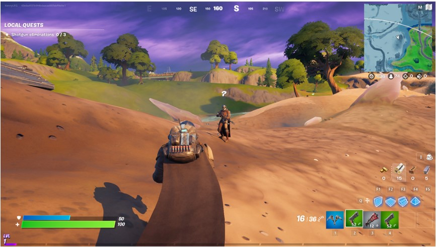 How to Find and Fight The Mandalorian in Fortnite?