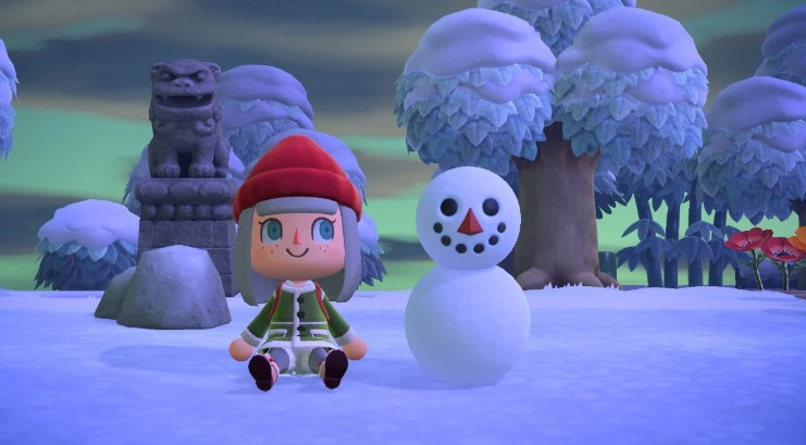 How to Make Snowman in Animal Crossing