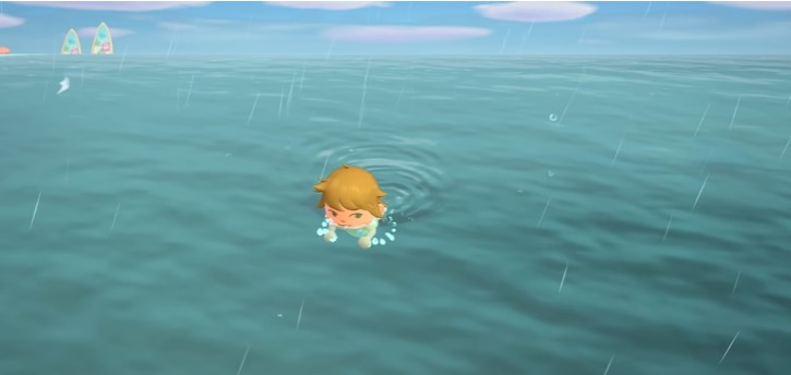 How to Swim in Animal Crossing