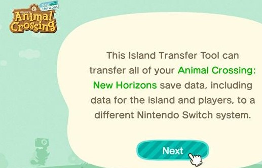 How to transfer an Animal Crossing island onto a new Nintendo Switch console