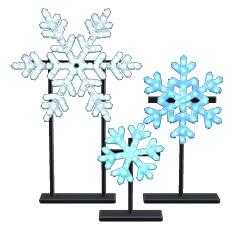 Illuminated Snowflakes
