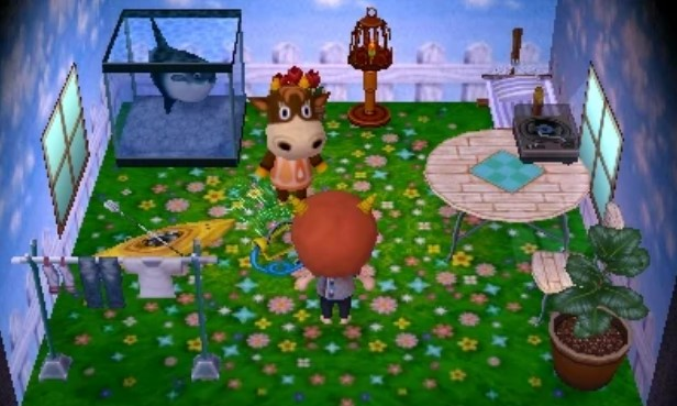 In New Leaf, now Patty's house
