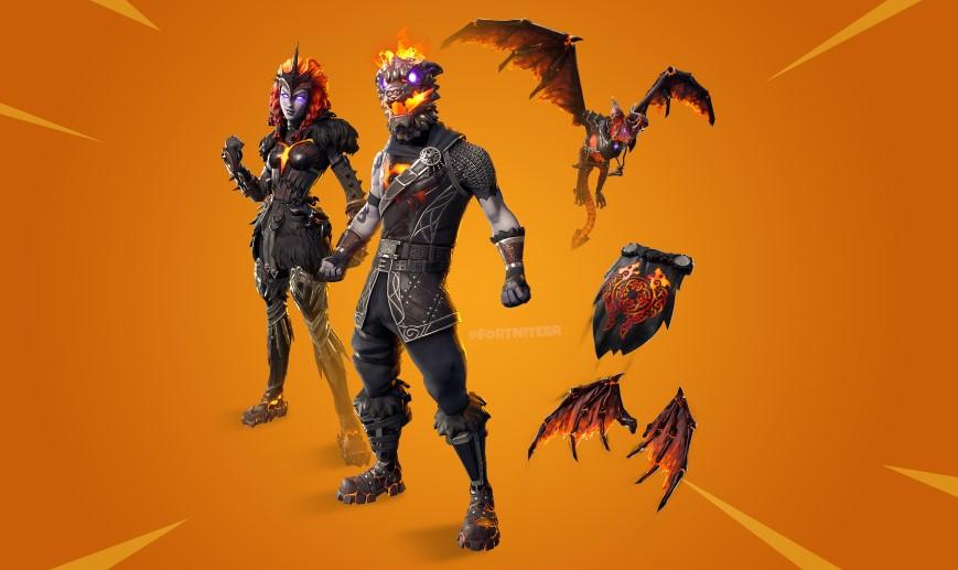 Lava Legends Pack in Fortnite