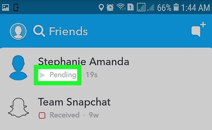 Pending On Snapchat