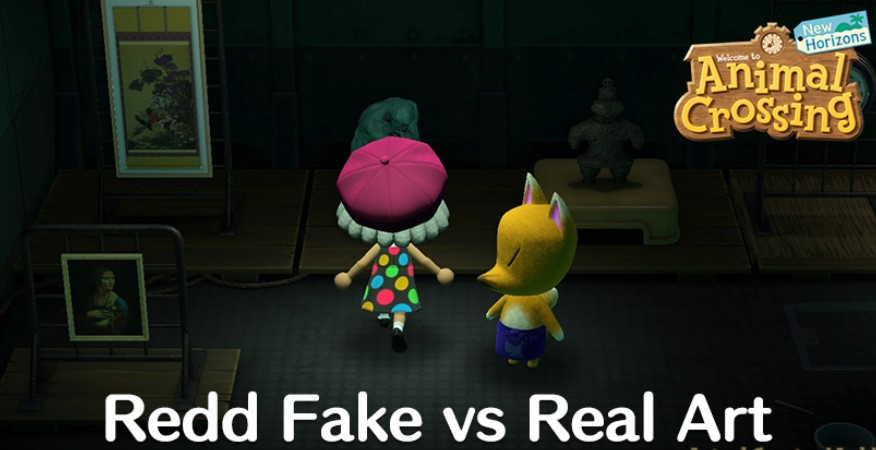 Perfect Painting Animal Crossing Real vs Fake