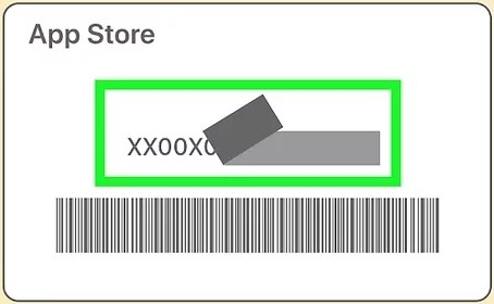 Please peel or scratch off gently the label on the back of your gift card to find a 16-digit code which starts with X