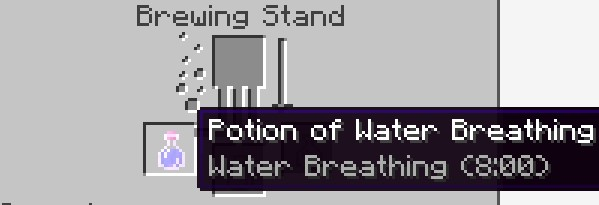 Potion of Water Breathing (8:00)