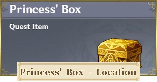 Princess Box Genshin Dragonspine