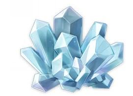 Rime Worn Crystal in Genshin Impact