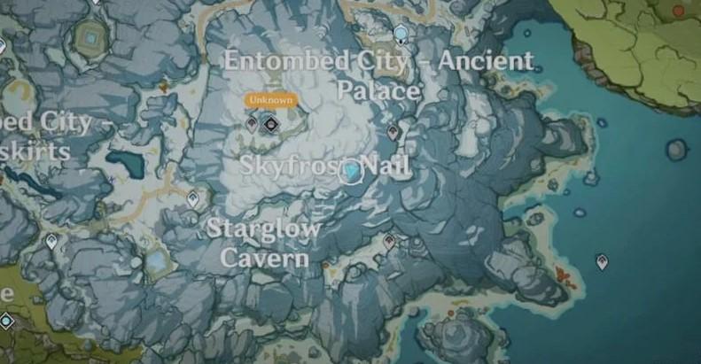 Second Shard Location