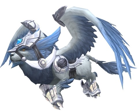 The Silverwind Larion Mount