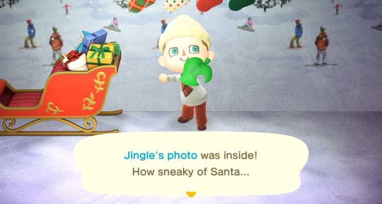 The Steps to Get Jingle's Photo ACNH
