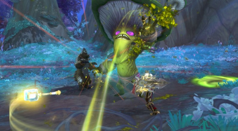 What Is an Unusually Large Mushroom in WoW Shadowlands