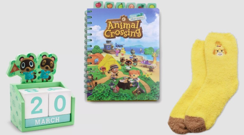 What is in the Animal Crossing Collector's Box