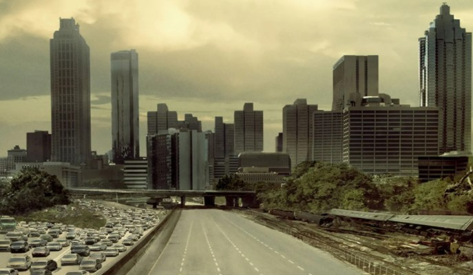 Zoom background The Walking Dead