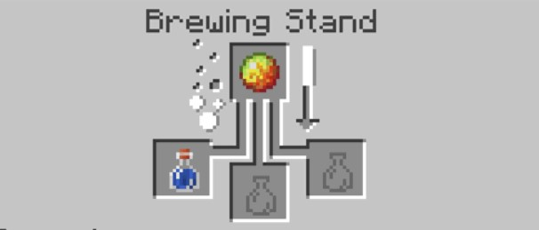 add the Magma Cream to the top box in the Brewing Stand menu.