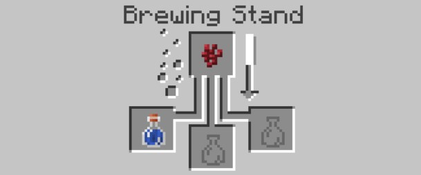 can add the Nether Wart to the top box in the Brewing Stand menu.