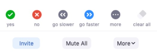 click on Mute All