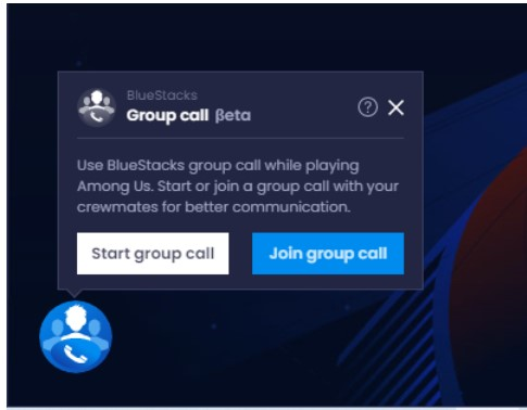 click on Start Group Call