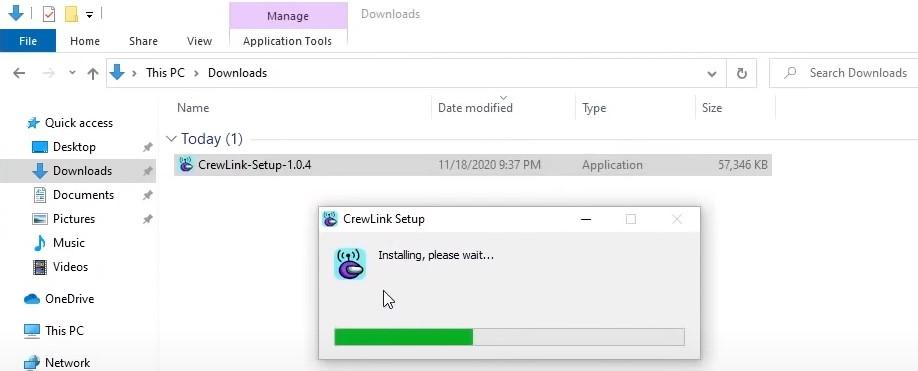 install the CrewLink mod