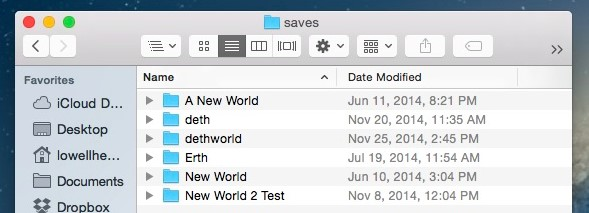 need to browse into the saves folders and you then will see all of them there.