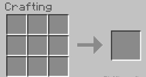 open your crafting table