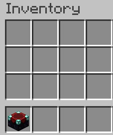 successfully created an enchantment table, you surely can move it to your inventory,