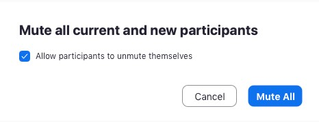 you are able to check Allow Participants to Unmute Themselves