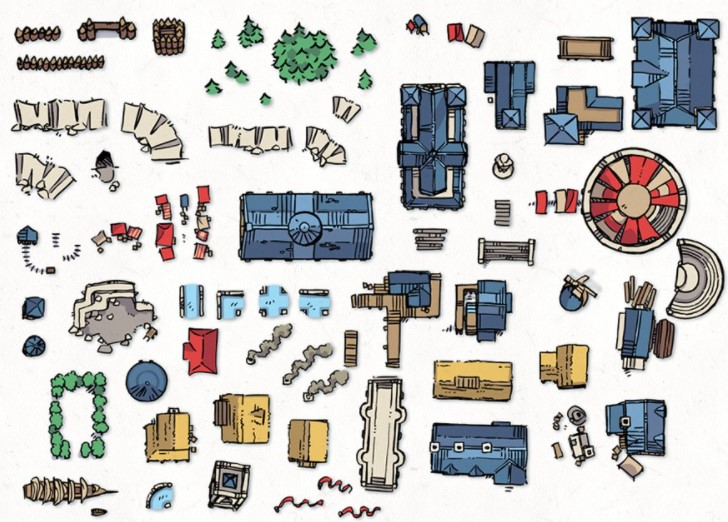 About Roll20 Map Assets