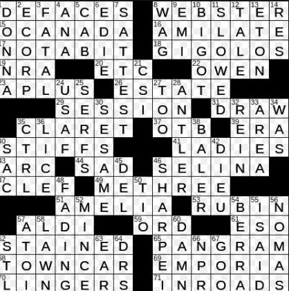 Bit Of Sarcasm Maybe Crossword Clue Alfintech Computer