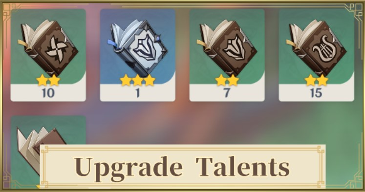 Genshin Impact Talent Book Guide