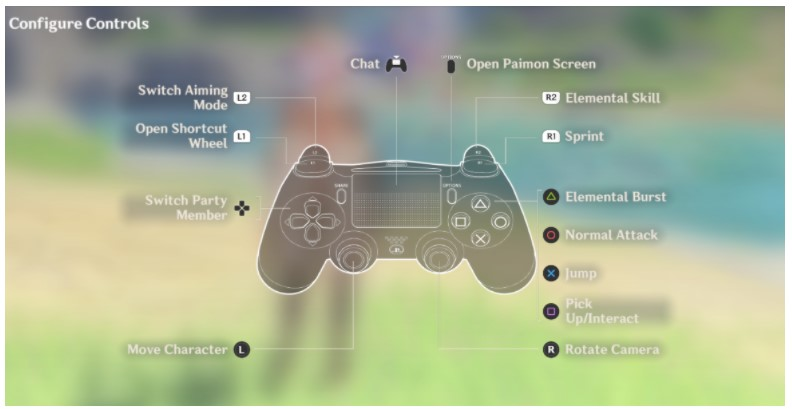 How to Use PS4 Controller to Play Genshin Impact Game