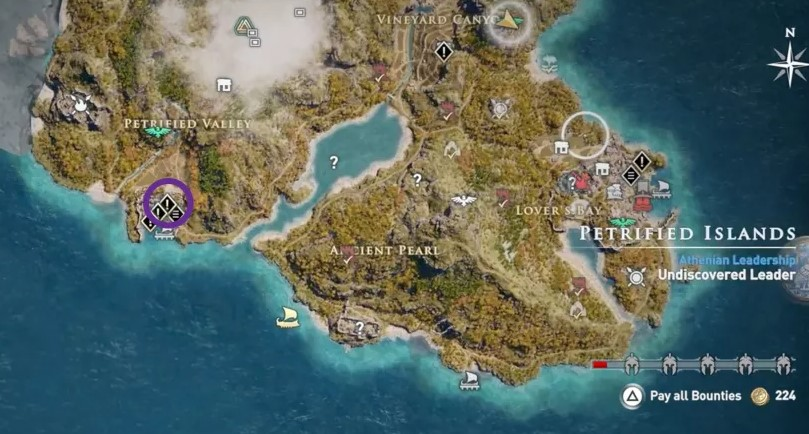 How to find Medusa in Assassin's Creed Odyssey