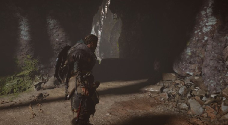 How to get Ceolbert out of the cave in the AC Valhalla Bloody Path to Peace quest