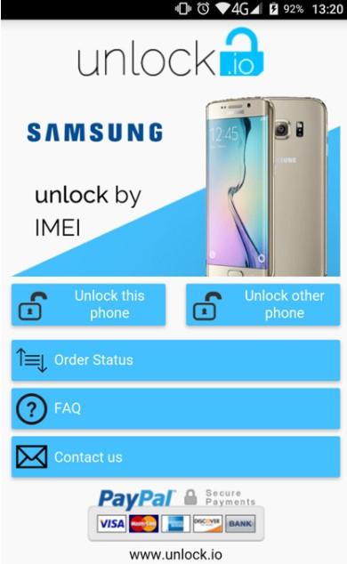 SIM Unlock Samsung
