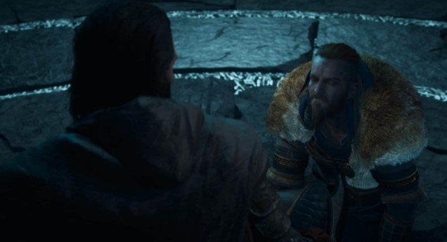 Sigurd tells Basim that he is an Oathbreaker and he must die here