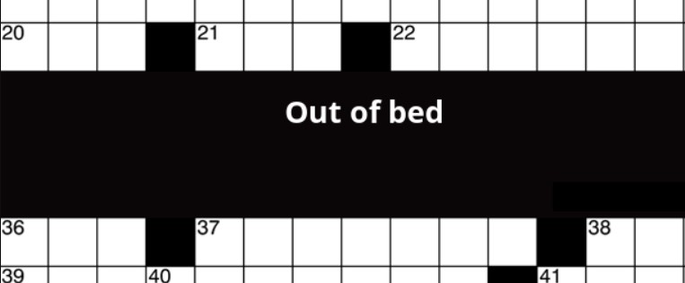 Spring Out of Bed Crossword Clue