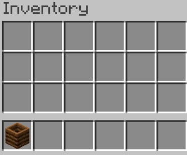 crafted a composter, you have to move it to your inventory