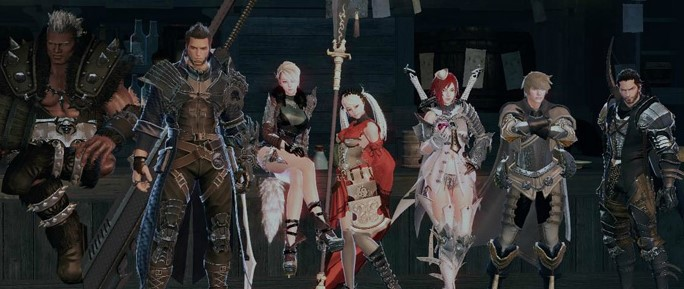 All Vindictus Characters